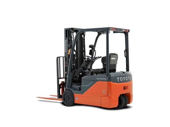 Toyota 3 wheel electric forklift texas Motorized forklift