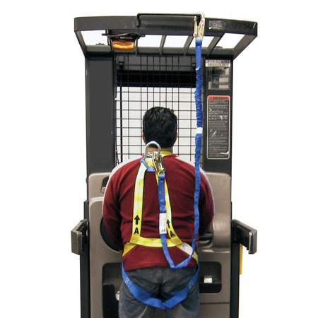 Forklift Safety Harness & Lanyard | Lift Truck Supply